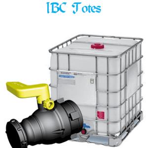 R&S Supply Company Sanitary Valves, wash down, IBC totes