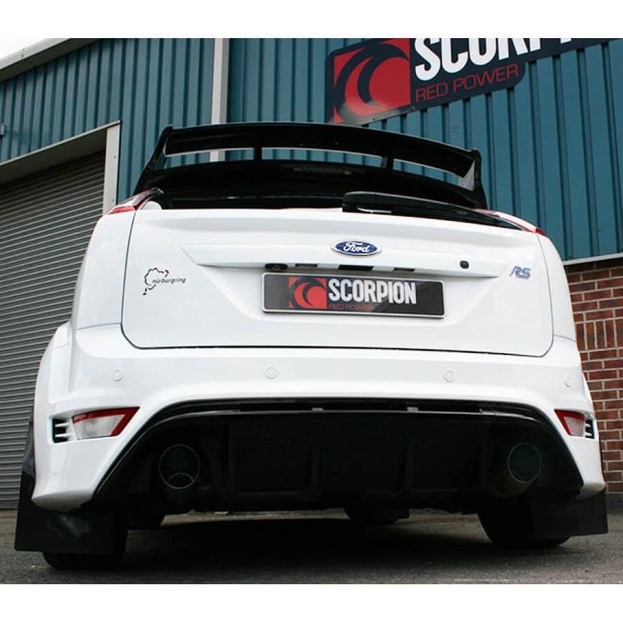 ford focus rs mk2 scorpion exhaust system