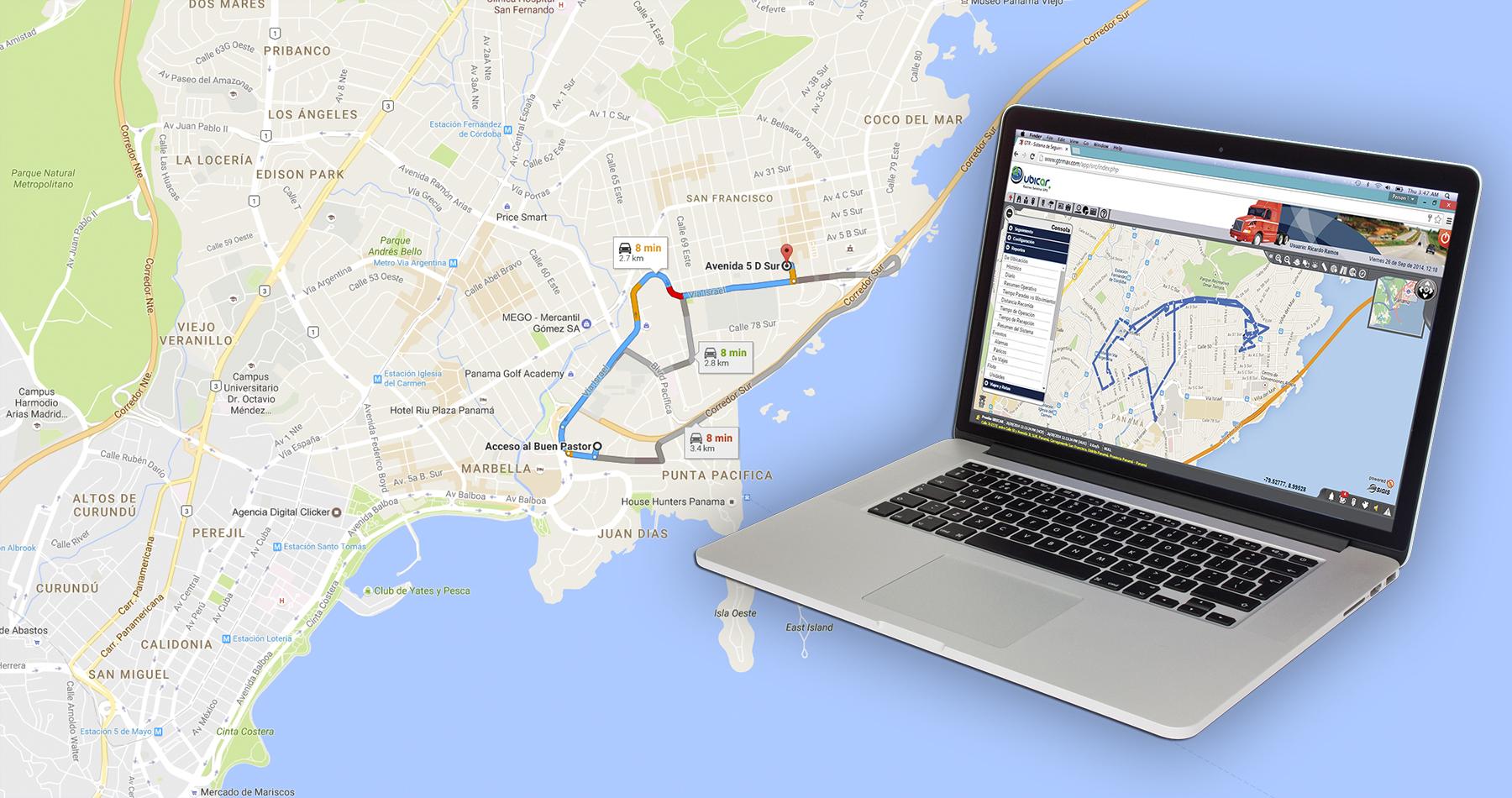 Rastreo Satelital GPS en Panamá - Ubicar Latinoamérica