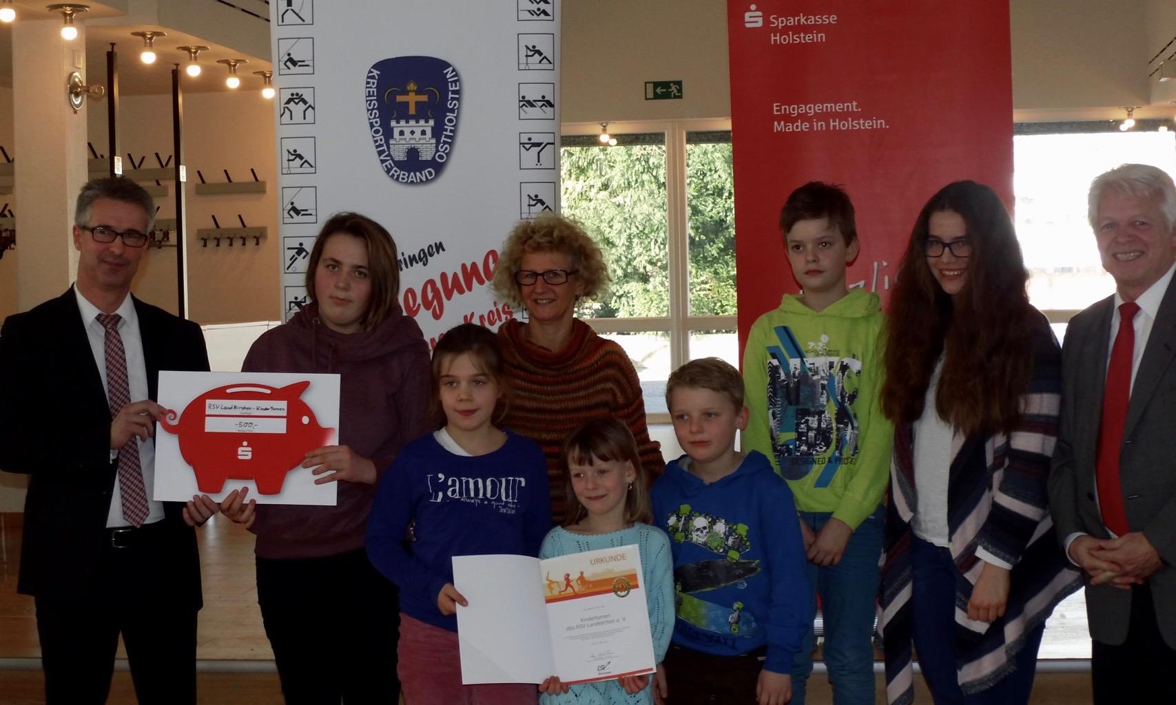 Sportabzeichen-Aktion: Sechs Gewinnerteams aus Ostholstein stehen fest