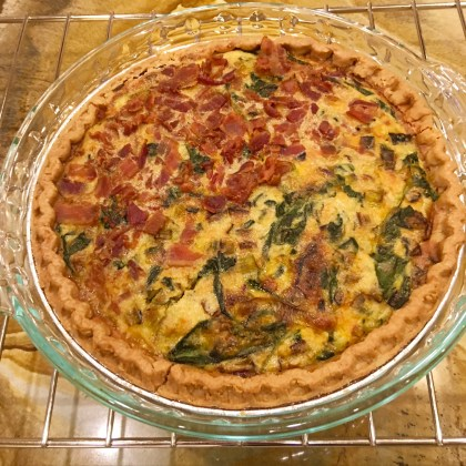 A Divided and Divine Quiche