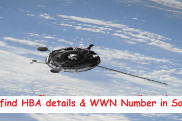 How to find HBA Details & WWN in Solaris & RHEL