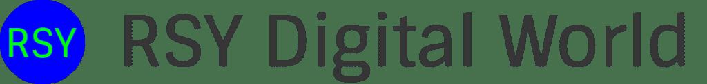 RSY Digital World Logo