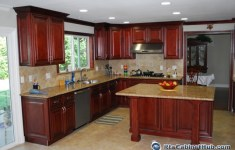 27 Most Beautiful Mahogany Kitchen Cabinets That You Will Be Admired Of