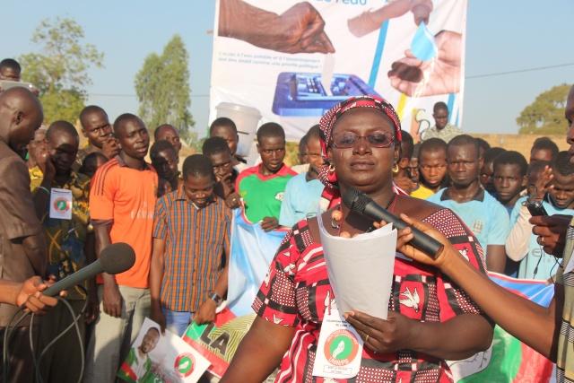 Mamounata KABORE, directrice est aussi tête de liste pour les législatives