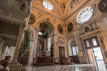 Cappella Colleoni , interno