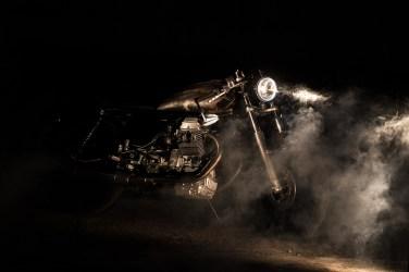 BLASTER - MOTO GUZZI V65 Special - Cafè Race Project - R.T. Earth Photo