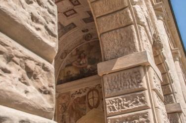 Loggia di Davide, particolare. Palazzo Te