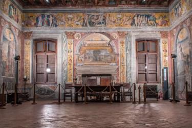 Sala dello Zodiaco. Palazzo d'Arco