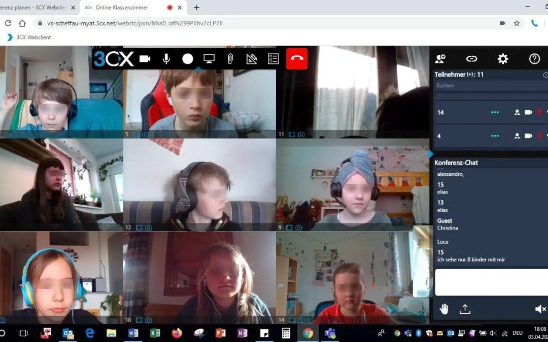 Tele-Learning Projekt Volksschule Scheffau zusammen mit rtec.at edv