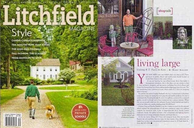 Litchfield Magazine - RT Facts - Kent, CT