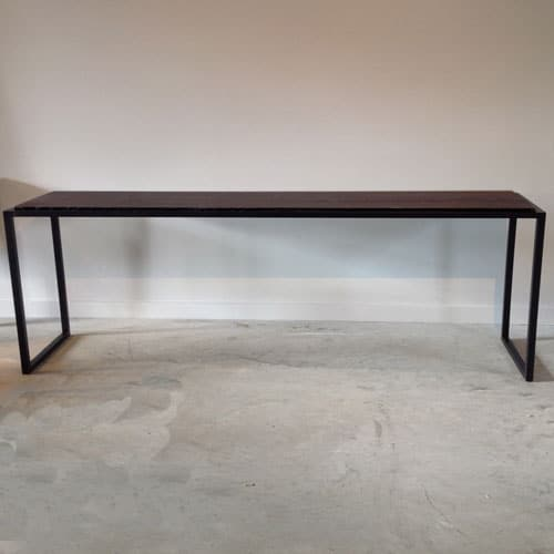 dark oak gallery console table