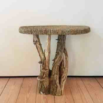 Faux Bois Side Center Table Rt Facts Kent Ct