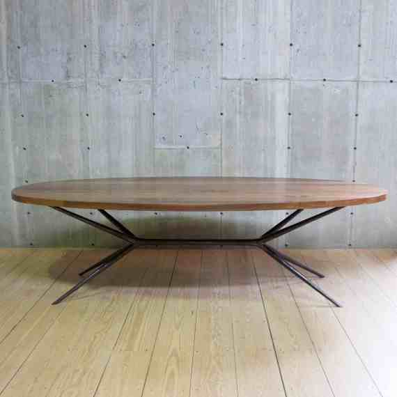 Italian Job Dinign Table with oval top