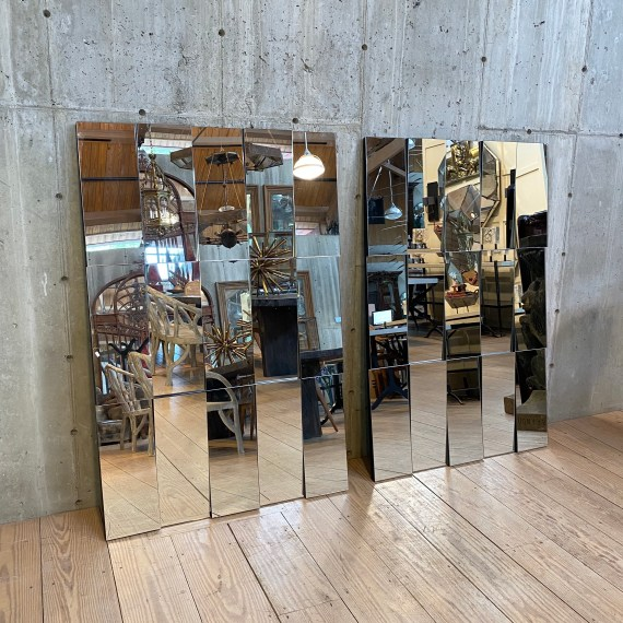 Pair of Large Contemporary Wall Mirrors – 2