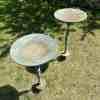Pair of Bronze Patinated Cast Metal Bird Baths – 4