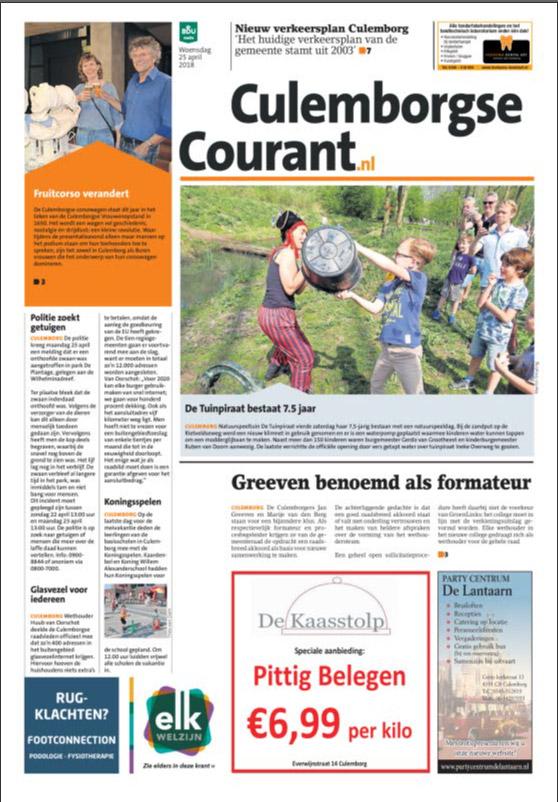Adverteren in de Culemborgse Courant