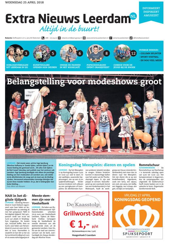 Adverteren in Extra Nieuws Leerdam