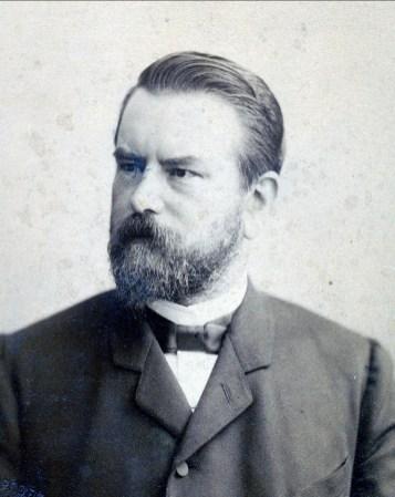 1880, appox Frans Bensdorp (1847-1902), cousin de Moe et fils de Gerardus Bernardus Bensdorp