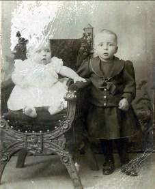 1892, Jean (Onkel) et François der Kinderen
