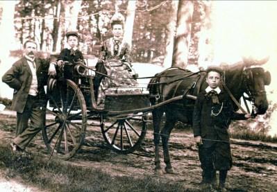 1900, approx Arnold, Jean, Johanna et François der Kinderen