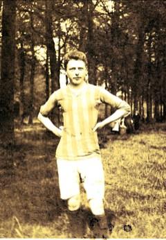1910, Johan der kinderen (Onkel) en Belgique avant son départ pour Montréal
