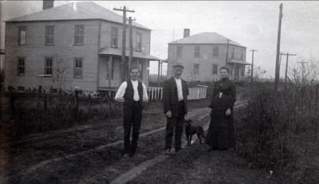 1912, Belgoville, Onkel, Opa Arnold, Moe