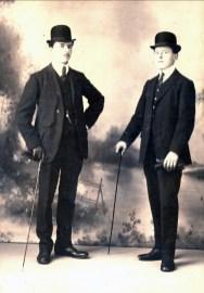 1912, François et Jean der Kinderen à Shawinigan