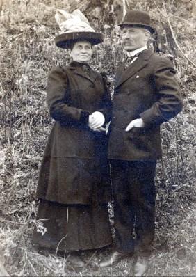 1912, Johanna et Arnold der Kinderen- parents de François et Jean