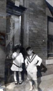 1917, Laurette et Albert Thivierge