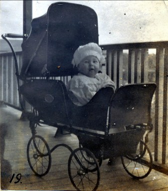 1918, Jeanne au repos