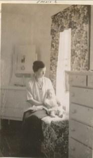 1919, 31 août Henriette de Kinder et sa mère