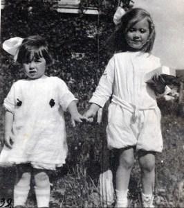 1919, Jeanne de Kinder à Montréal (en visite) avec Anne van der Pol