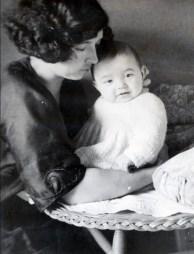 1923, Germaine et Louis de Kinder