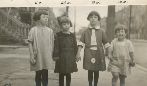 1923, Jeanne de Kinder, Rita Fournier, Cécile Joly, Hernriette de Kinder