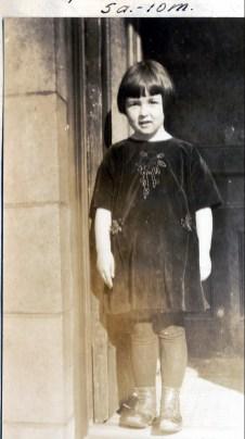 1924, 25 janvier. Henriette à la résidence de Moe, rue Waverly
