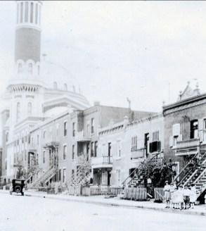 1925, sur la rue St-Urbain