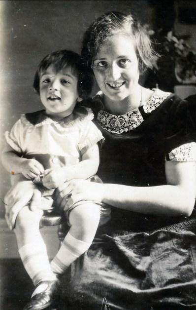 1927, Robert et miss Alida Daudt