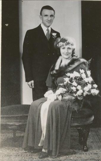 1932, 11 mai noces Miss Alida et Théo Kemper