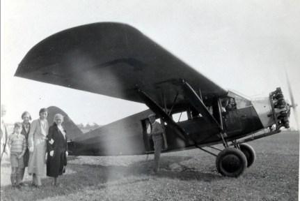 1932, 11 septembre - François, Louis, Jeanne, Germaine et Moe