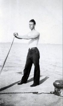 1932, Albert Thivierge à Laprairie