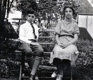 1935, Louis et Gaby de Kinder