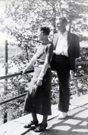 1938, Antoinette Bergeron et Albert Thivierge