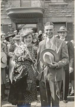 1940, 25 mai - Les mariés