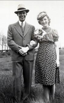 1940, Albert et Henriette