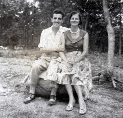 1940, approx Johnny et Laurette Sofio