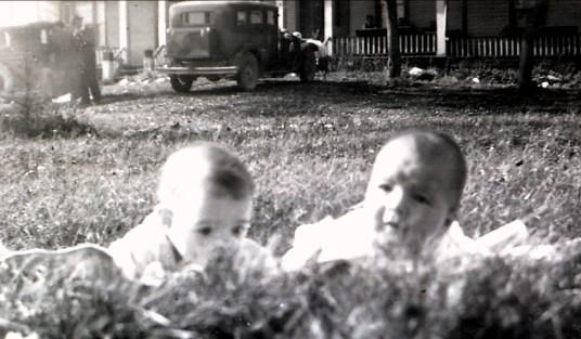 1941, Claude Bertrand et Paulette