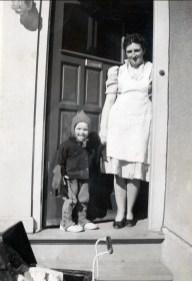 1946, Irène avec Henriette