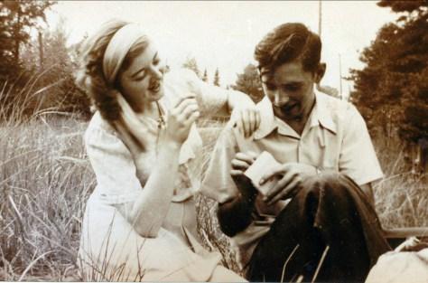1946, approx Ruth Starnes et Louis de Kinder (3)