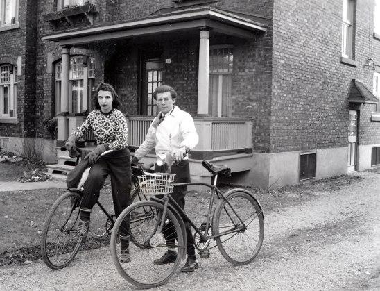 1947, Gaby et Gérard Bessette